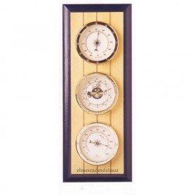 Estación meteorológica náutica en madera