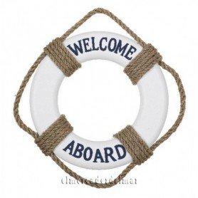 Salvavidas náutico Welcome Aboard