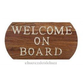 Plafón náutico Welcome on board