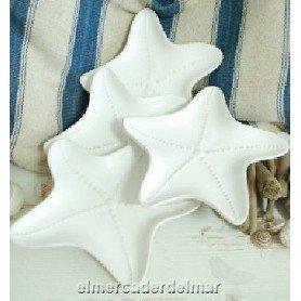 Plato náutico estrella de mar en cerámica