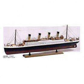 Maqueta naval barco transatlántico Titanic
