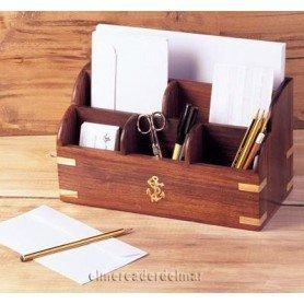 Organizador náutico de madera