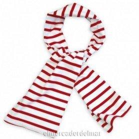 Pañuelo náutico de algodón mujer