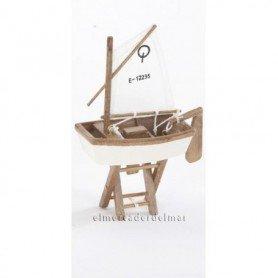 Maqueta naval velero olímpico Optimist