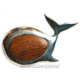 Imán náutico ballena marina