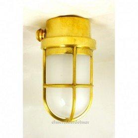 Lámpara aplique náutico de techo