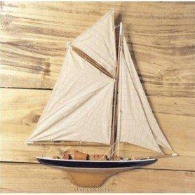 Maqueta naval medio caso velero