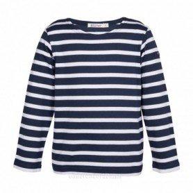 Camiseta marsellesa náutica de niña y niño