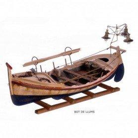 Barca de pesca, bot de llums