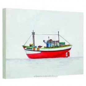 Cuadro náutico barco de pesca