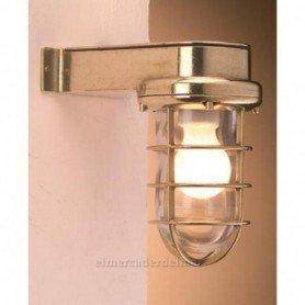 Aplique lámpara náutico en latón