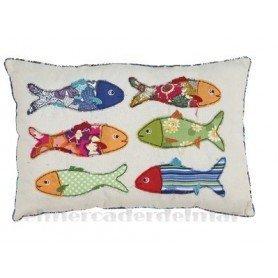 Cojín peces de colores