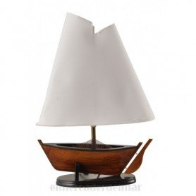 Lámpara náutica de barco velero