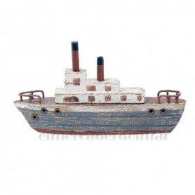 Barco trasatlántico rústico