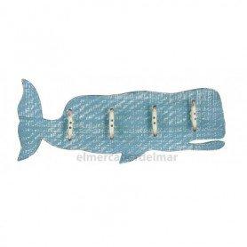 Perchero Colgador  ballena