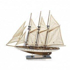 Maqueta de velero goleta Atlantic