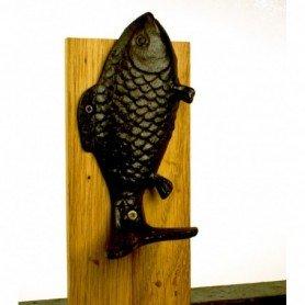 Colgador pez hierro
