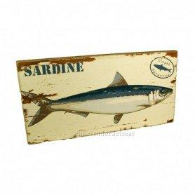 Pintura marina sardina