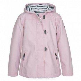 Chubasquero chaqueta náutico de niña Rosa