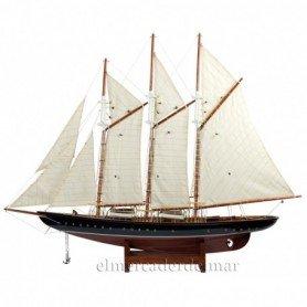 Maqueta velero Atlantic