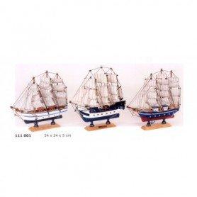 Maqueta de barco velero Bergantín