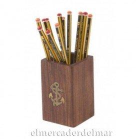 Lapicero náutico de madera