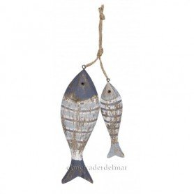 Ristra marinera dos peces