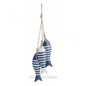 Colgante marinero de peces