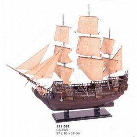 Maqueta naval velero galeón
