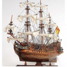 Maqueta de barco Galeón San Felipe