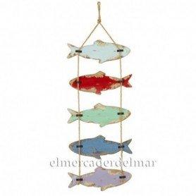 Colgante de peces decorativo