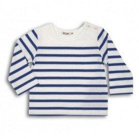 Camiseta marsellesa náutica de bebe
