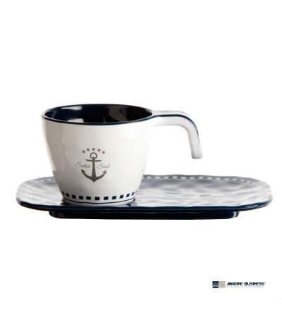 Tazas de café náuticas irrompibles Sailor Soul (6 uds.)