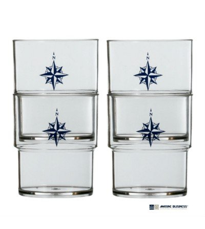 Vasos marineros apilables Northwind Decoración Mar