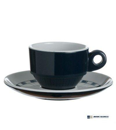 Juego de tazas de café náuticas irrompibles Columbus Decoración Mar