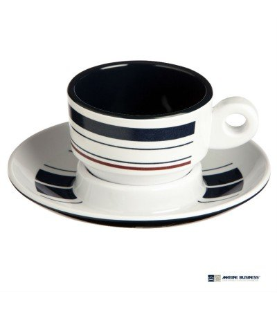 Tazas de café expreso irrompibles Mónaco Decoración Mónaco