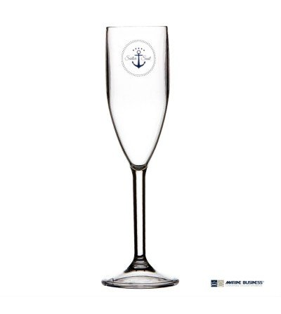 Copa de champagne irrompible Sailor Soul Decoración Mar
