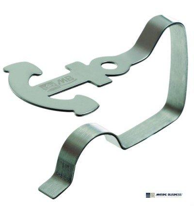 Pinzas para mantel de acero inoxidable (4 uds.)