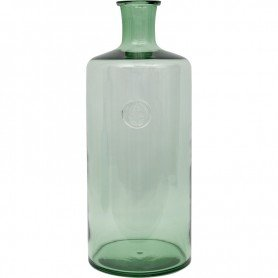 Botella verde vintage estilo marinero en Decoración Mar