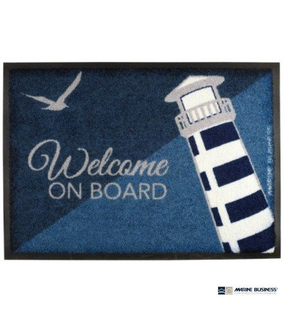 Alfombra náutica antideslizante Marine Business Welcome on board Faro Lighthouse en Decoración Mar