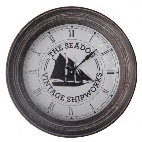 Reloj náutico con esfera velero
