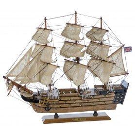 Maqueta naval del velero H.M.S. Victory