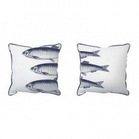 Cojines marineros con peces en decoracionmar.com