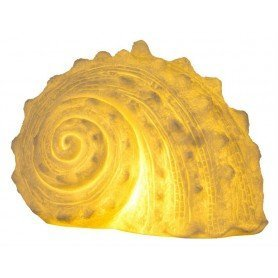 Lámpara marina caracola de mar en elmercaderdelmar.com