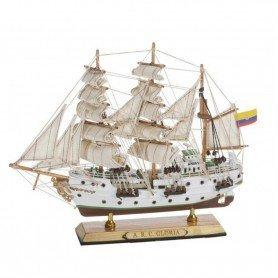 Maqueta de barco fragata Arc Gloria grande en decoracionmar.com  para decoracion marinera y náutica