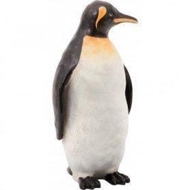 Figura pinguino en resina para decoración