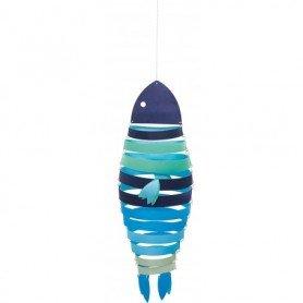 Móvil colgante pez decoración infantil