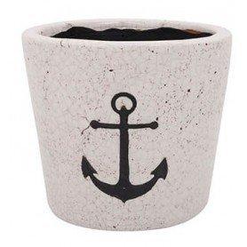 Macetero tiesto cerámica decorativa