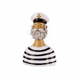 Escultura figura decorativa hombre marinero