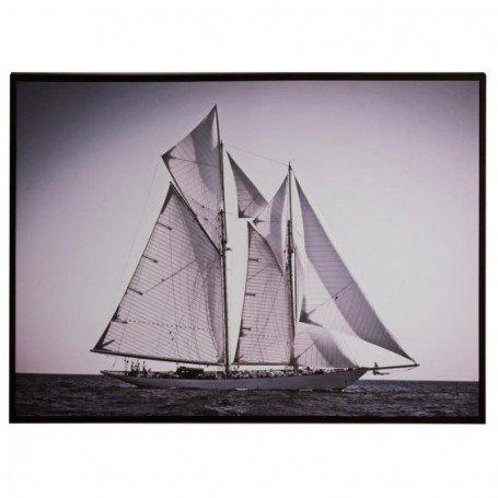 cuadro náutico Goleta navegando